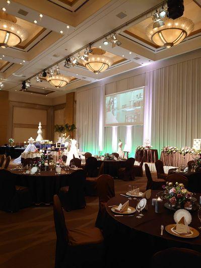 ホテル日航ブライダルフェア模擬披露宴